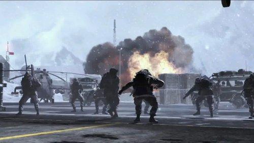 Todas as imagens de Modern Warfare 2 têm explosões!